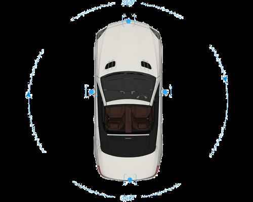 System monitorowania otoczenia 360 3D HD - Dedykowany Audi