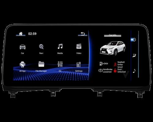 NDX367S Premium - Lexus RX 2020